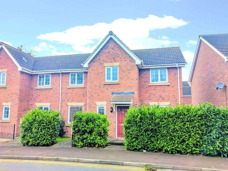 3 Bedrooms Semi Detached House for sale in Clover Piece Walk, Hereford
