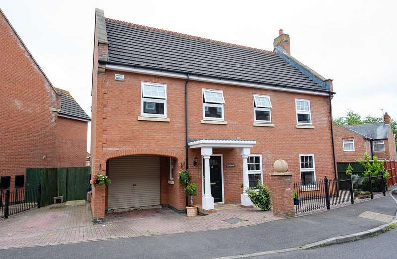 5 Bedrooms Detached House for sale in Abbots Crescent, Spalding, PE11