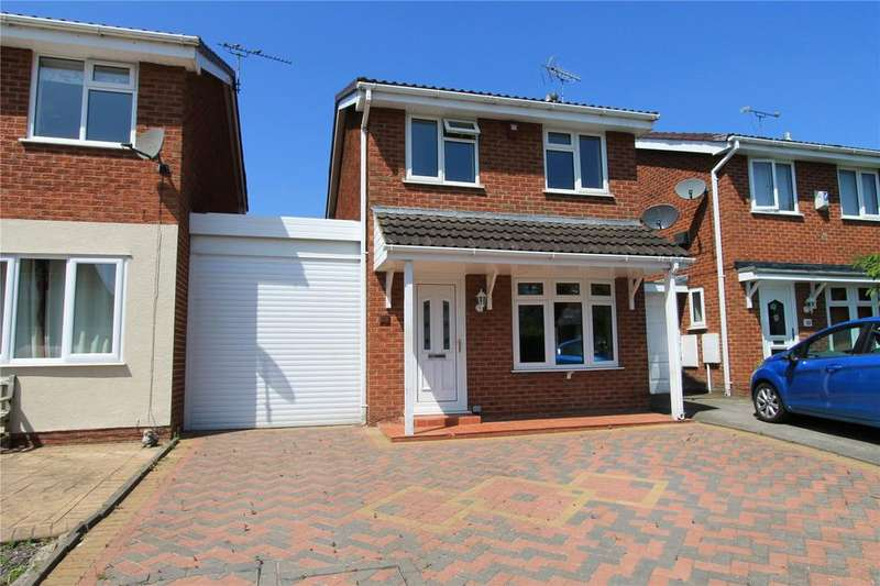 2 Bedrooms Detached House for sale in Sheringham Drive, Crewe, Cheshire, CW1
