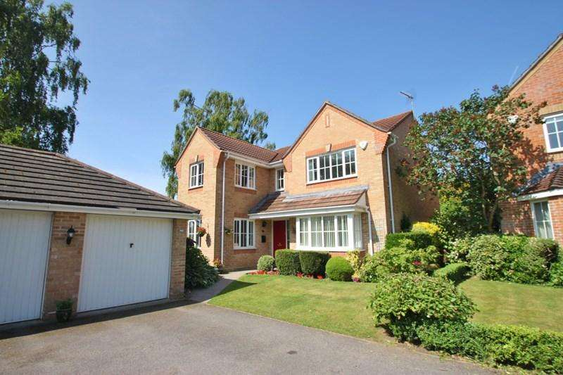 4 Bedrooms Detached House for sale in Woodland Close, Verwood