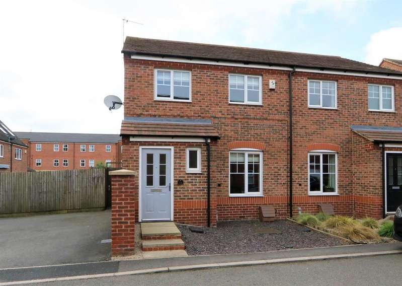 3 Bedrooms Detached House for sale in Oak Crescent, Ashby-De-La-Zouch, LE65...