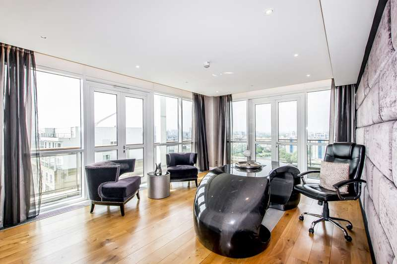 3 Bedrooms Penthouse Flat for sale in Eaton House, Westferry Circus, Canary Wharf, E14