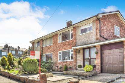 3 Bedrooms Semi Detached House for sale in Wensley Close, Burnley, Lancashire, .