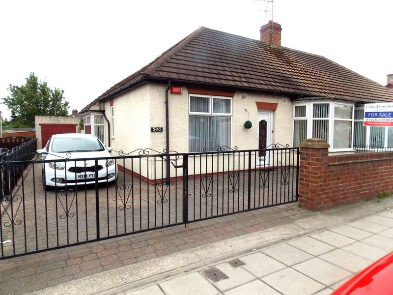 3 Bedrooms Semi Detached Bungalow for sale in Yarm Road, Darlington