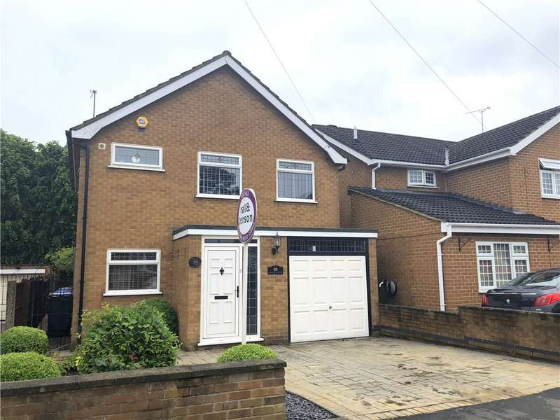 3 Bedrooms Detached House for sale in Melton Avenue, Littleover, Derby, Derbyshire, DE23