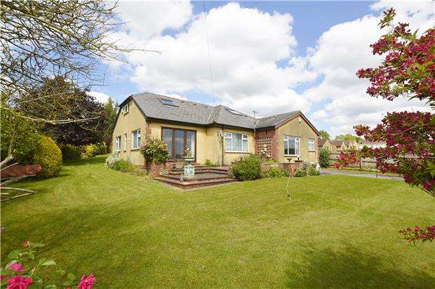 3 Bedrooms Detached Bungalow for sale in Thicket Mead, Midsomer Norton, RADSTOCK, Somerset, BA3 2SJ