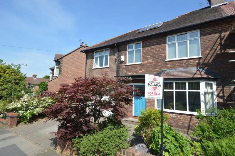4 Bedrooms Semi Detached House for sale in Osborne Road, Stockton Heath, Warrington