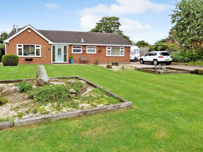 3 Bedrooms Detached Bungalow for sale in Church Croft, Coton in the Elms