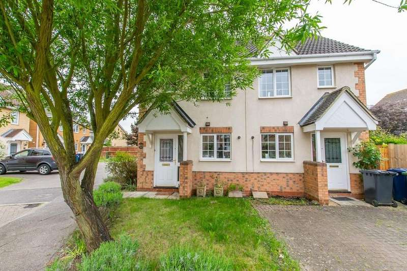 2 Bedrooms Semi Detached House for sale in Moat Way, Swavesey