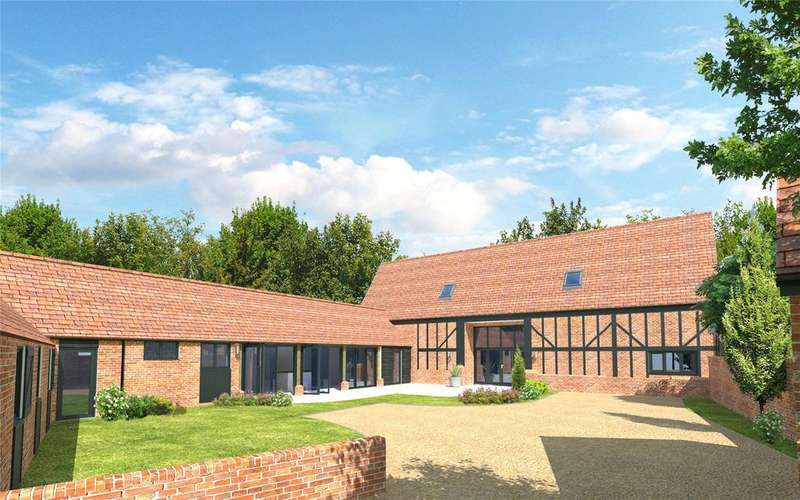 5 Bedrooms Barn Conversion Character Property for sale in Church End, Renhold, Bedfordshire, MK41