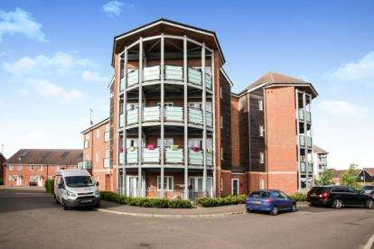 2 Bedrooms Flat for sale in Riley Grove, Dunstable, Bedfordshire