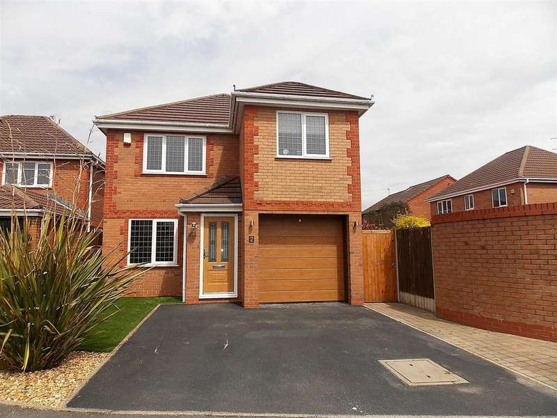 3 Bedrooms Detached House for sale in Sedgwick Close, Westhoughton, Bolton