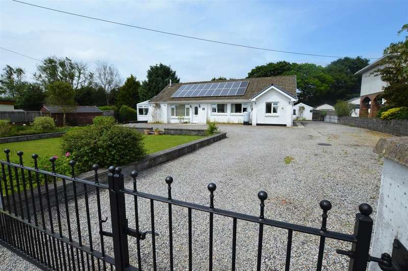 3 Bedrooms Detached Bungalow for sale in 2a Glynhir Road, Llandybie, Ammanford
