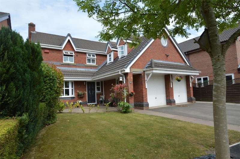 4 Bedrooms Detached House for sale in Edinburgh Close, SALE, Cheshire