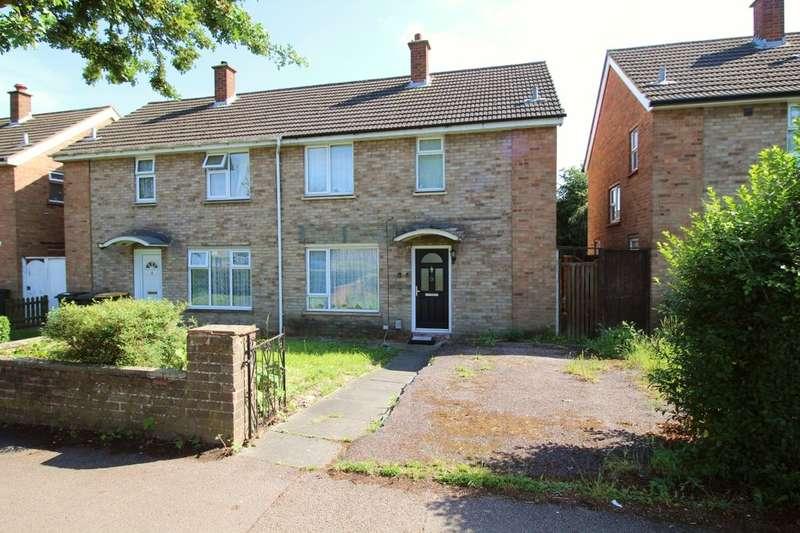 3 Bedrooms Semi Detached House for sale in Needwood Road, BEDFORD, MK41