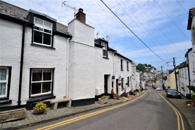 3 Bedrooms Terraced House for sale in West Looe Hill, Looe, Cornwall