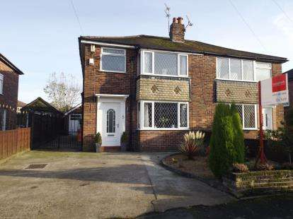 3 Bedrooms Semi Detached House for sale in Knowsley Road, Hazel Grove, Stockport, Cheshire