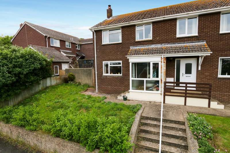 3 Bedrooms Semi Detached House for sale in Headway Rise, Teignmouth