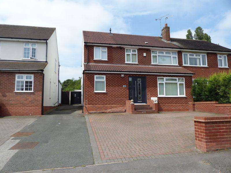5 Bedrooms Semi Detached House for sale in St. Margarets Road, Great Barr