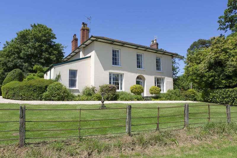 6 Bedrooms Detached House for sale in Llangybi, Usk, Monmouthshire