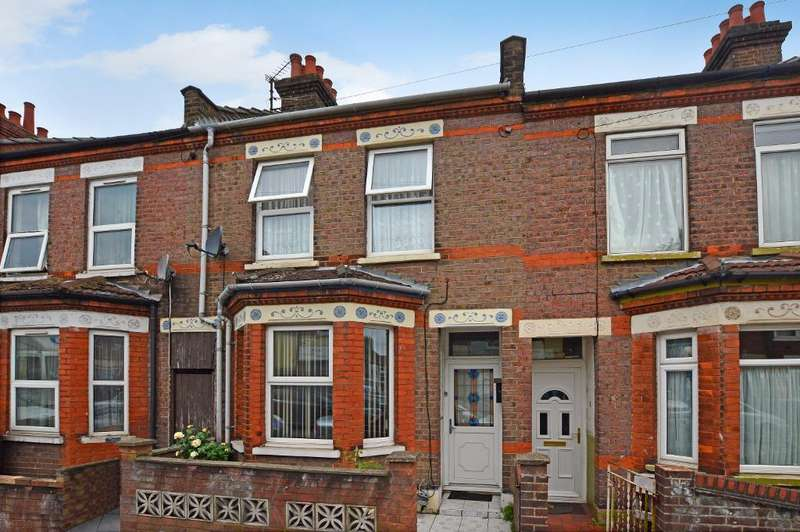 3 Bedrooms Terraced House for sale in Granville Road, Luton, Bedfordshire, LU1 1PA