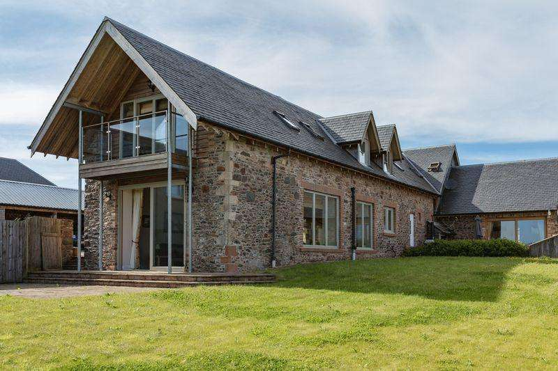 2 Bedrooms Barn Conversion Character Property for sale in The Longbarn, Huntshaw, Earlston