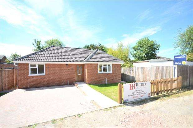 2 Bedrooms Detached Bungalow for sale in Florence Road, College Town, Sandhurst