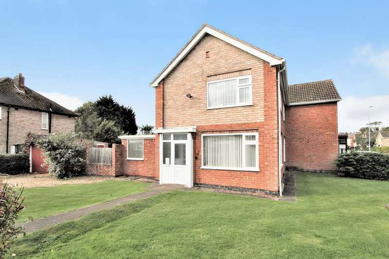 3 Bedrooms Property for sale in Brookside Drive, Oadby, Leicester