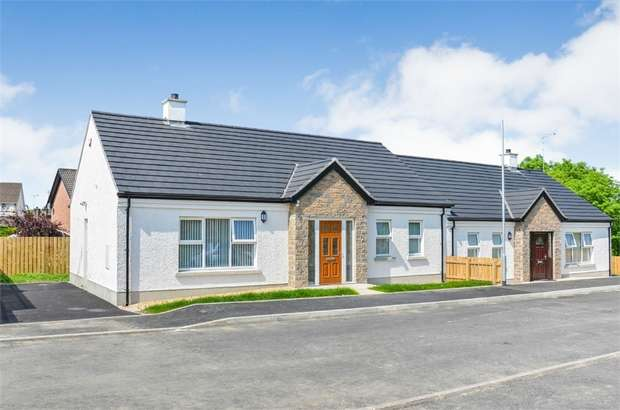 2 Bedrooms Semi Detached House for sale in Woodbrook, Omagh, County Tyrone