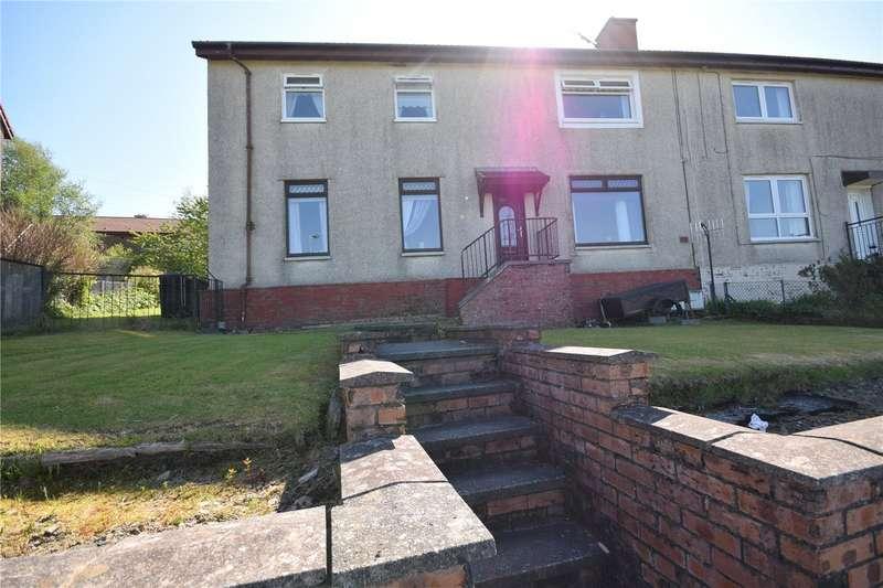 3 Bedrooms Flat for sale in Auchenroy Crescent, Dalmellington, Ayr, East Ayrshire, KA6