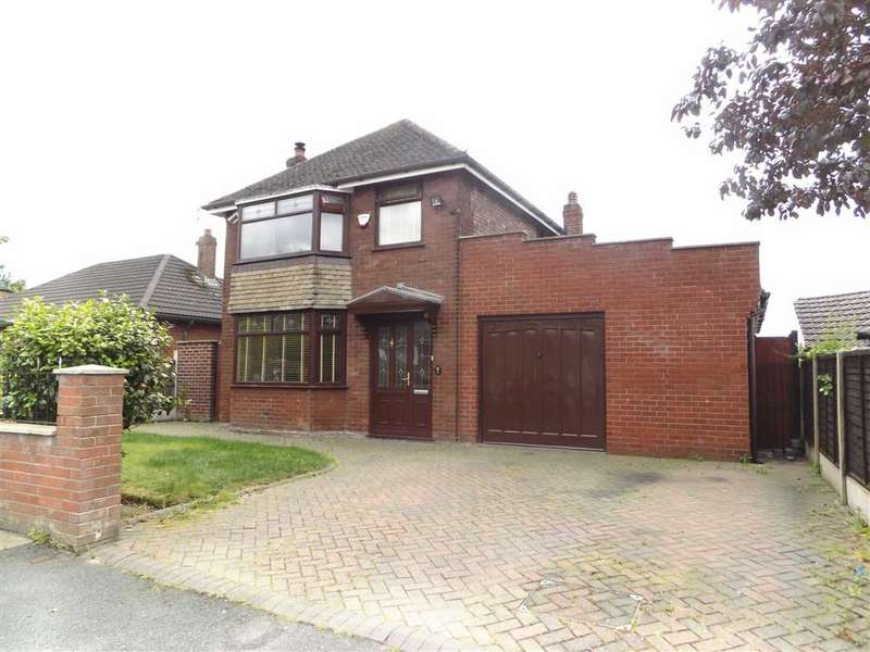 3 Bedrooms Detached House for sale in Hill Crest Drive, Denton, Manchester