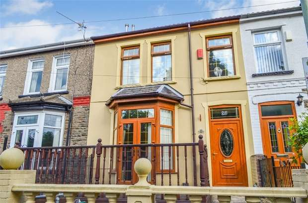 3 Bedrooms Terraced House for sale in Llanfair Road, Tonypandy, Mid Glamorgan