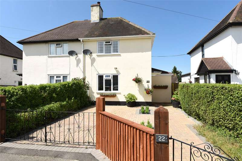 2 Bedrooms Semi Detached House for sale in Osmans Close, Winkfield Row, Berkshire, RG42