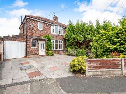 3 Bedrooms Semi Detached House for sale in Newlands Drive, Didsbury, Manchester, Gtr Manchester