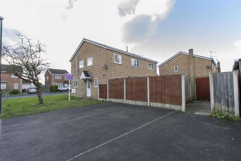 2 Bedrooms Town House for sale in Highfields Way, Holmewood, Chesterfield