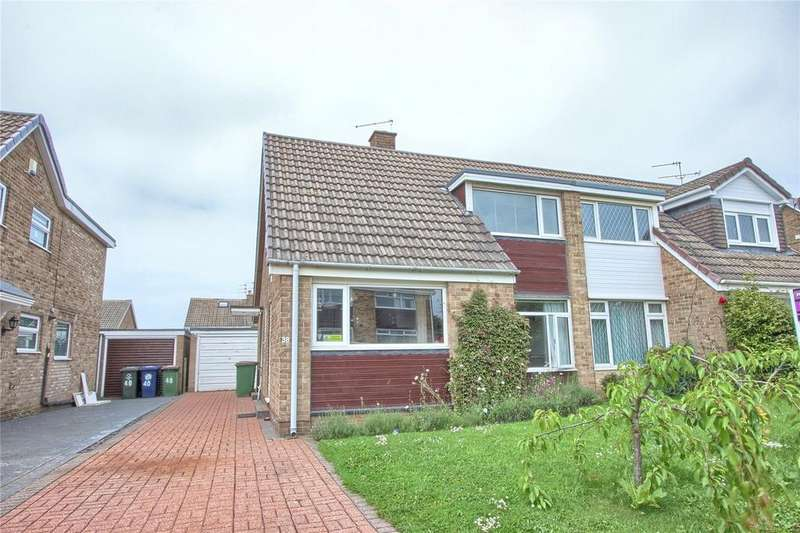 4 Bedrooms Semi Detached House for sale in Sherwood Drive, Marske-by-the-Sea