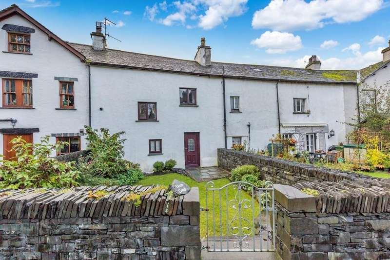 3 Bedrooms Terraced House for sale in Victory Cottage, Red Lion Yard, Hawkshead, Cumbria LA22 0NU