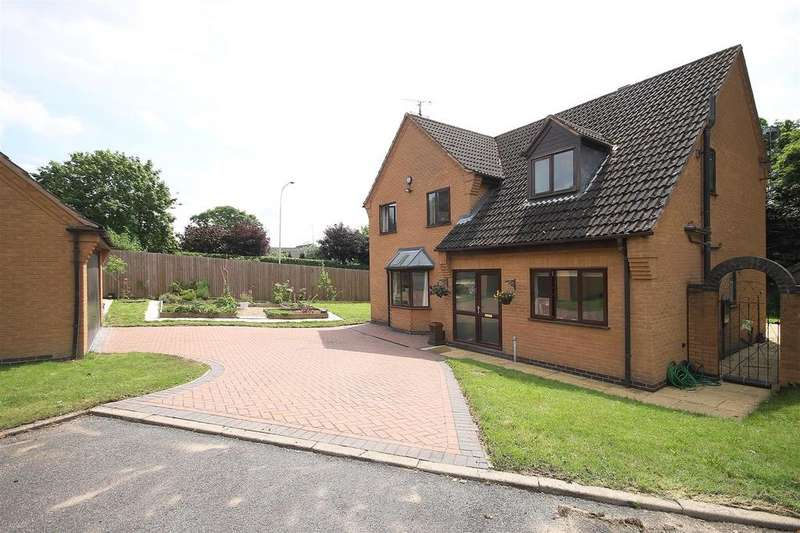 4 Bedrooms Detached House for sale in Treeneuk Close, Chesterfield