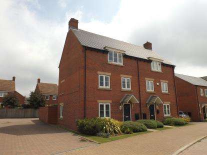 3 Bedrooms Semi Detached House for sale in Polwell Road, Kibworth Harcourt, Leicester, Leicestershire