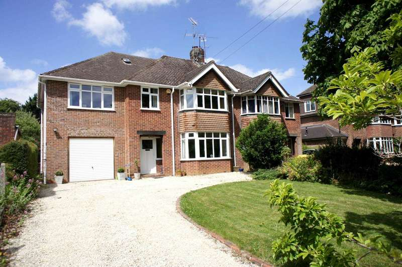 4 Bedrooms Semi Detached House for sale in Grosvenor Road, Caversham, Reading