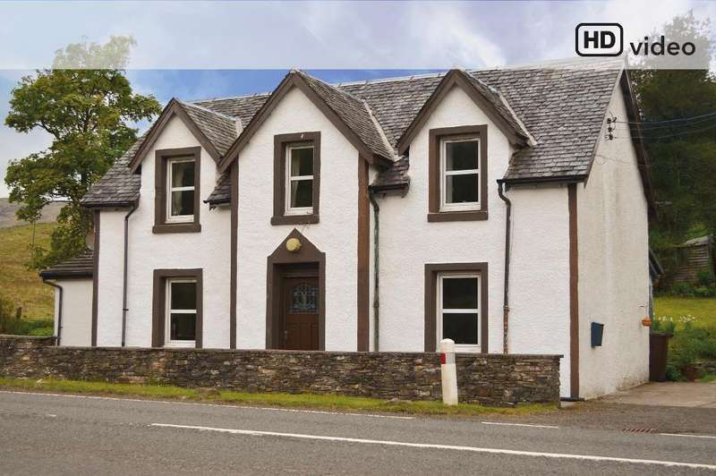 3 Bedrooms Detached House for sale in Stronua Old House, Crianlarich, Stirlingshire, FK20 8RL