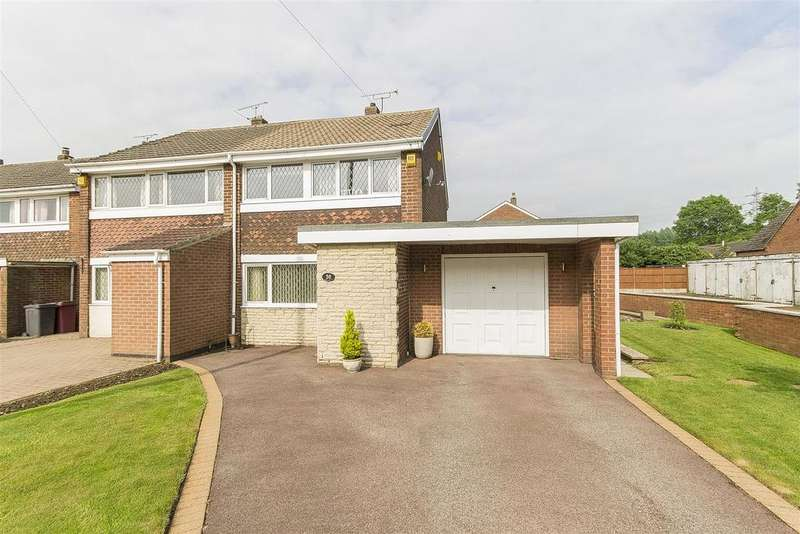 3 Bedrooms Semi Detached House for sale in Rupert Street, Lower Pilsley, Chesterfield