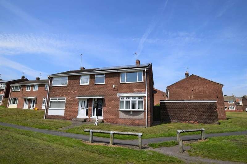 3 Bedrooms Semi Detached House for sale in Southfields, South Stanley, Co. Durham