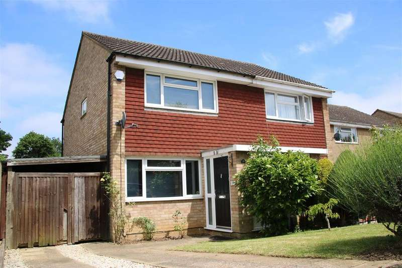 2 Bedrooms Semi Detached House for sale in Keats Way, Hitchin