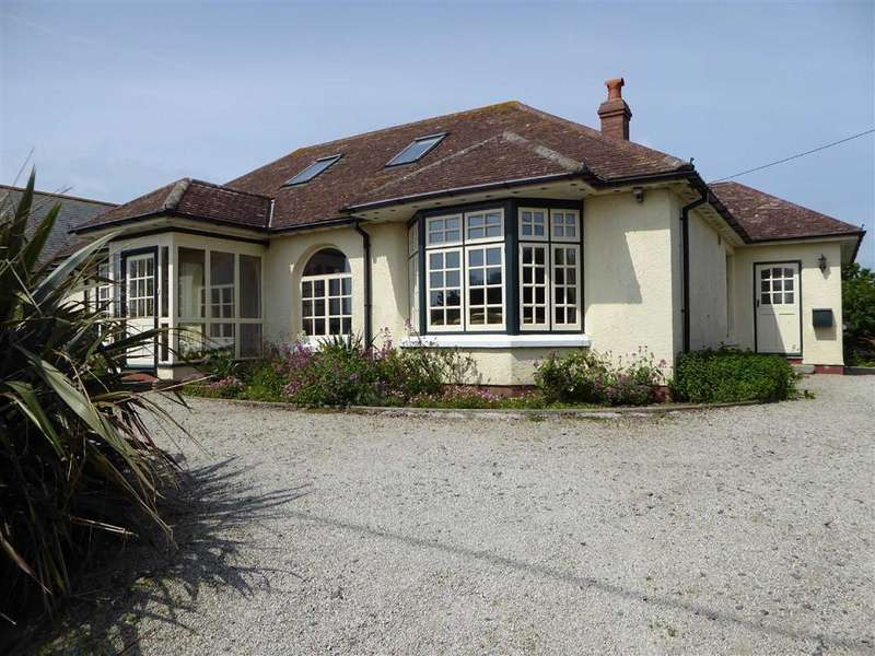 5 Bedrooms Detached House for sale in Penmenner Road, The Lizard, Helston, Cornwall, TR12