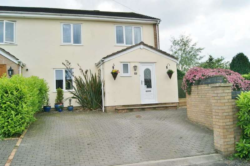 3 Bedrooms End Of Terrace House for sale in Ty Gwyn, Wrexham