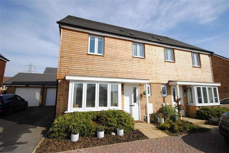 3 Bedrooms Semi Detached House for sale in Wryneck, Leighton Buzzard
