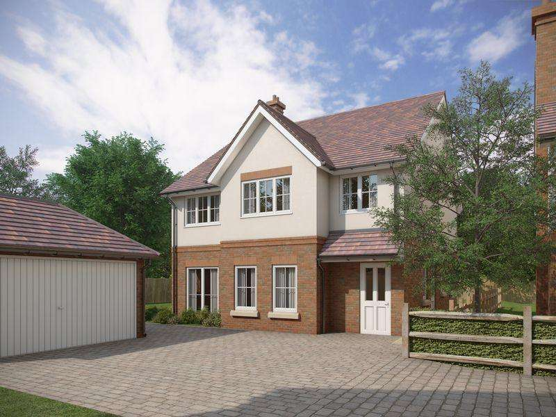 4 Bedrooms Detached House for sale in New Homes - Corhampton