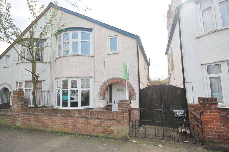 3 Bedrooms Semi Detached House for sale in Winchester Avenue, West End, Leicester LE3