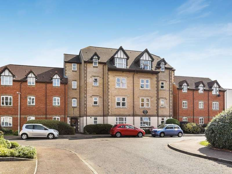 2 Bedrooms Apartment Flat for sale in Sherwood House, Rembrandt Way, Reading, RG1